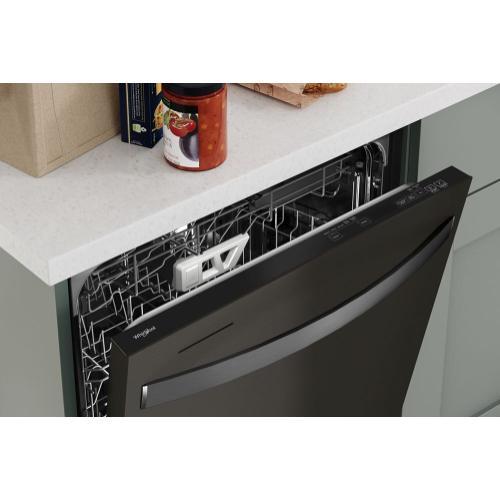 Whirlpool - Fingerprint Resistant Dishwasher with 3rd Rack & Large Capacity