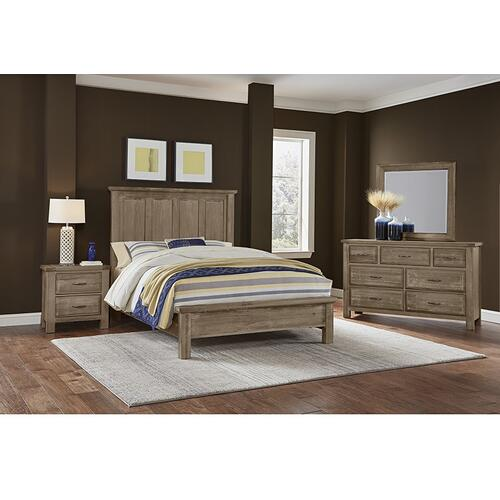 Artisan & Post Solid Wood - Triple Dresser - 7 Drawers