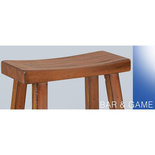 "Sunny Designs - 30""H Sedona Saddle Seat Stool"