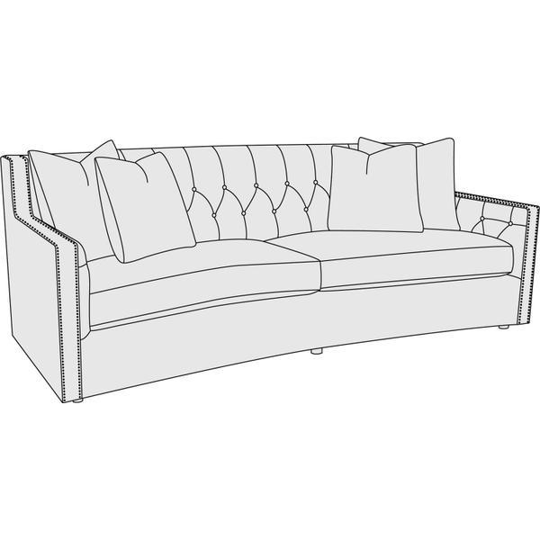 """Candace Sofa (89"""")"""