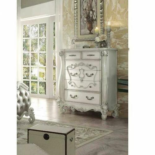 ACME Versailles Chest - 21136 - Bone White