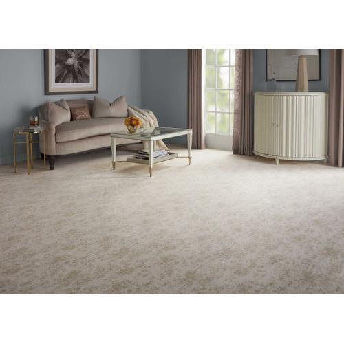 Elegance Abstract Chic Absch Parchment Broadloom Carpet