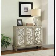 ACME Bailea Console Table - 90115 - Silver Gray Product Image