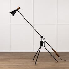 See Details - Walt Floor Lamp-pc Black & White