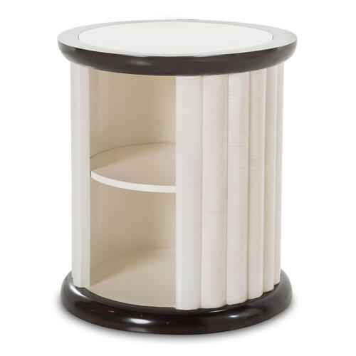 Amini - Round End Table