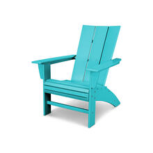 Aruba Modern Curveback Adirondack Chair