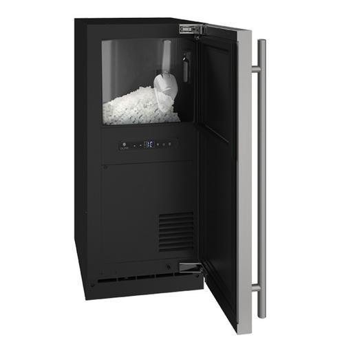 """U-Line - Hnb315 / Hnp315 15"""" Nugget Ice Machine With Stainless Solid Finish, No (115 V/60 Hz Volts /60 Hz Hz)"""