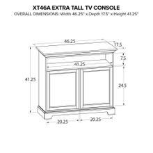 XT46A Extra Tall Custom TV Console
