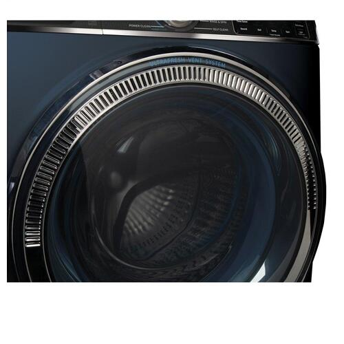 Product Image - GE® 5.0 cu. ft. Capacity Smart Front Load ENERGY STAR® Steam Washer with SmartDispense™ UltraFresh Vent System with OdorBlock™ and Sanitize + Allergen