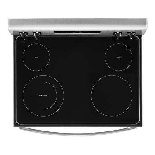 Whirlpool - 5.3 cu. ft. electric range with Keep Warm Setting.