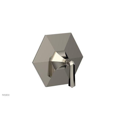 Phylrich - LE VERRE & LA CROSSE Thermostatic Shower Trim - Lever Handle TH170 - Polished Nickel