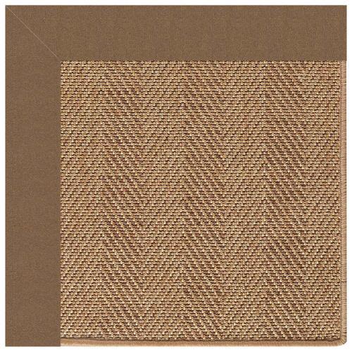 "Capel Rugs - Islamorada-Herringbone Canvas Cocoa - Rectangle - 24"" x 36"""