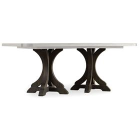 Dining Room Rectangle Pedestal Dining Base