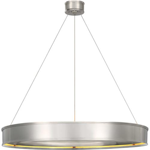 Visual Comfort - Chapman & Myers Connery LED 40 inch Polished Nickel Ring Chandelier Ceiling Light