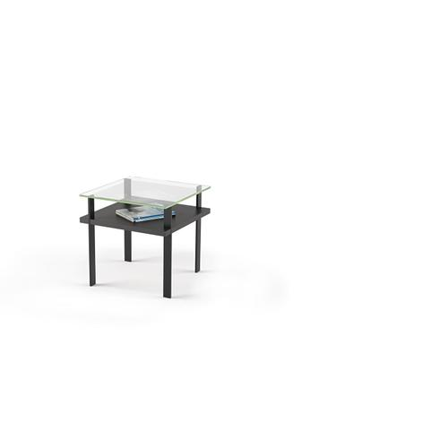 BDI Furniture - Terrace 1156 End Table in Charcoal Stained Ash