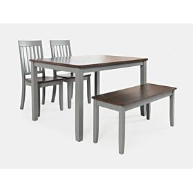 Decatur Lane 4 Pack - Table, (2) Chairs, Bench