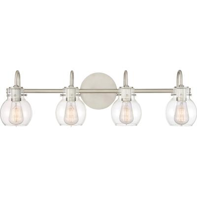 Andrews Bath Light in Antique Nickel