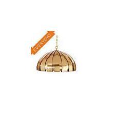 See Details - Modern Rib Chandelier - Antique Brass