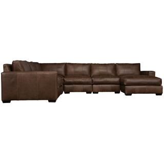 See Details - Dawkins Sectional in Walnut (793)