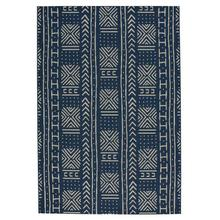 Finesse-Mali Cloth Navy Machine Woven Rugs