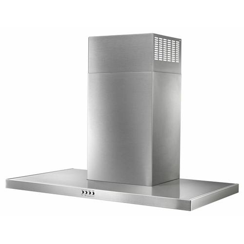 "36"" Stainless Steel Wall Mount Flat Range Hood"
