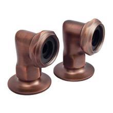 """2"""" Faucet Elbows - Oil Rubbed Bronze"""