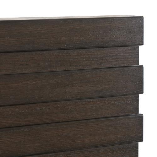 Stackhaus King / California King Headboard in Dark Brown