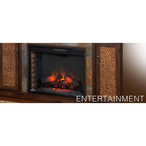 Sunny Designs - Santa Fe Fireplace/ TV Console