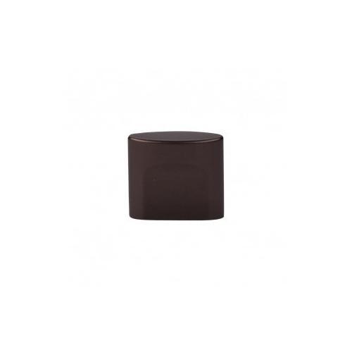 Oval Slot Knob 3/4 Inch (c-c) - Oil Rubbed Bronze