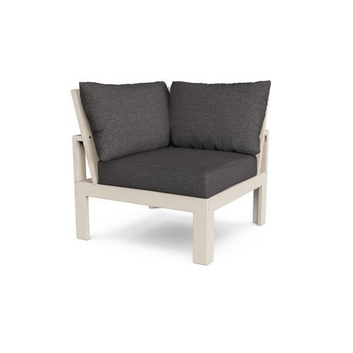 Sand & Ash Charcoal Modular Corner Chair