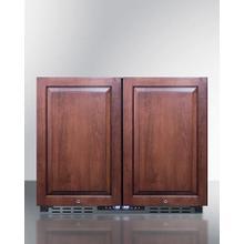 "Product Image - 36"" Wide Built-in Refrigerator-freezer, ADA Compliant"