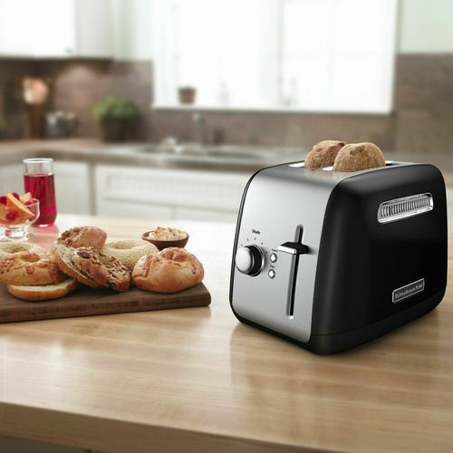KitchenAid - 2-Slice Toaster with manual lift lever - Onyx Black