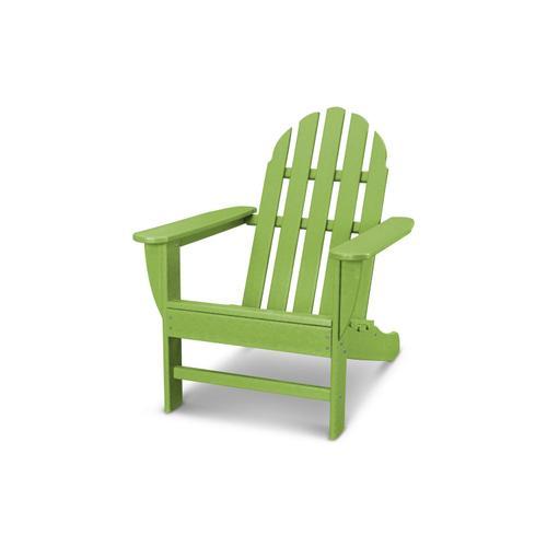 Lime Classic Adirondack Chair