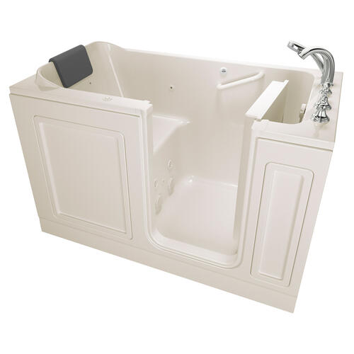 Acrylic Luxury Series 32x60 Whirlpool System Walk-in Tub, Right Drain  American Standard - Linen