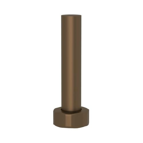 """English Bronze Perrin & Rowe 8"""" Therm Outlet Connector"""