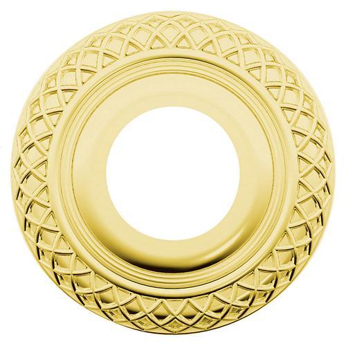 Baldwin - Lifetime Polished Brass R003 Estate Rose