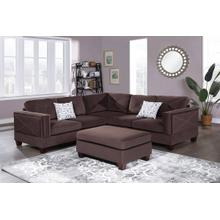 See Details - 3-pc Sectional W/2 Accent Pillow (ottoman Included)