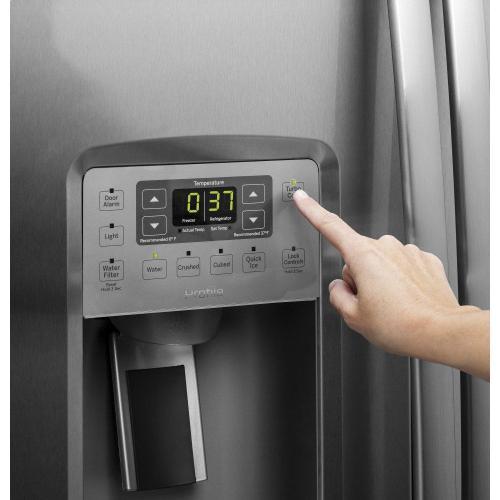 Gallery - GE Profile™ Series ENERGY STAR® 25.3 Cu. Ft. Side-by-Side Refrigerator