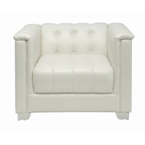 Chaviano Contemporary White Chair