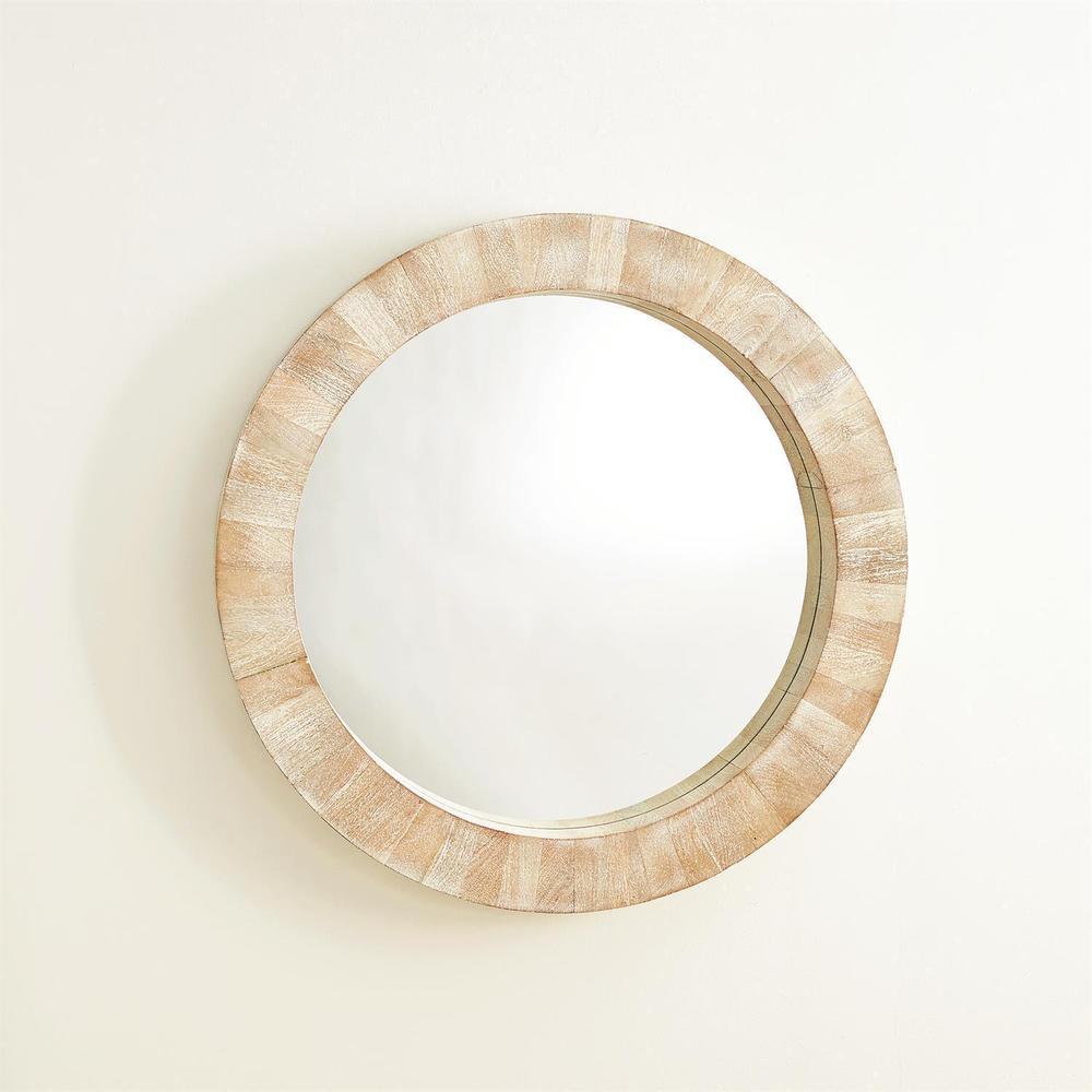 See Details - Driftwood Round Mirror