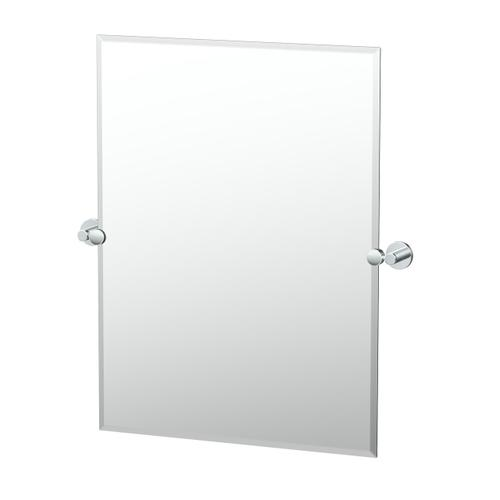 Reveal Rectangle Mirror in Chrome