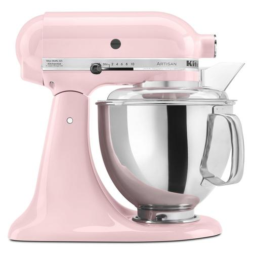 Artisan® Series 5 Quart Tilt-Head Stand Mixer Pink
