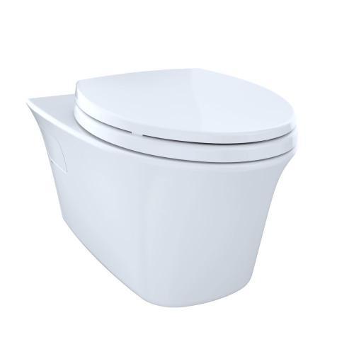 Toto - Maris® Wall-Hung Dual-Flush Toilet, 1.6 GPF & 0.9 GPF, Elongated Bowl - Cotton