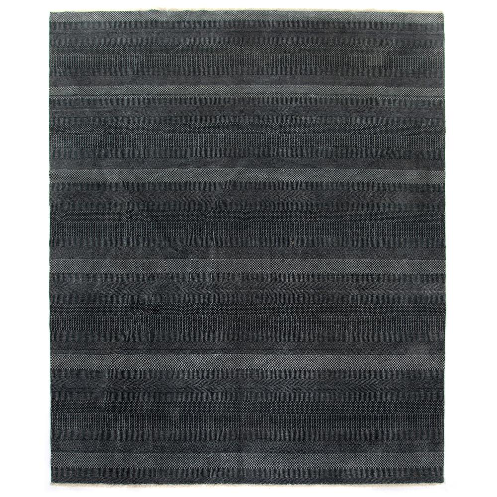 8'x10' Size Dark Charcoal Finish Alessia Rug