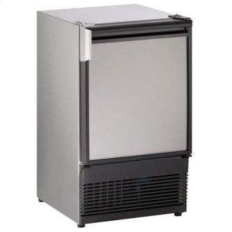 """15"""" Crescent Ice Maker With Stainless Solid Finish (230 V/50 Hz Volts /50 Hz Hz)"""