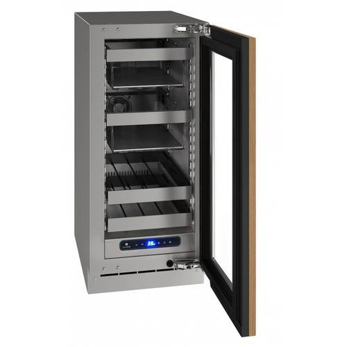 "U-Line - Hbv515 15"" Beverage Center With Integrated Frame Finish and Field Reversible Door Swing (115 V/60 Hz Volts /60 Hz Hz)"