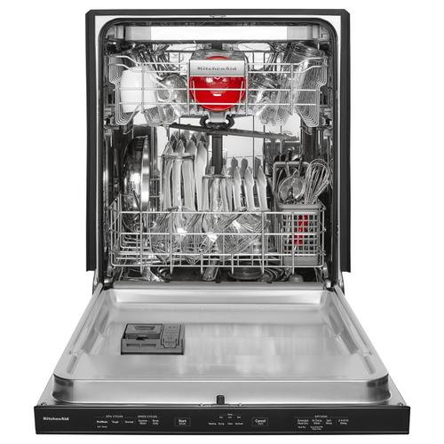 Gallery - 46 DBA Dishwasher with Third Level Rack and PrintShield™ Finish, Pocket Handle Stainless Steel with PrintShield™ Finish