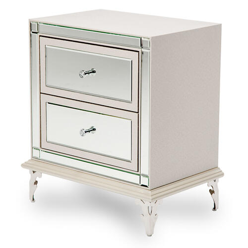 Gallery - Upholstered Accent Cabinet-night Stand-end Table