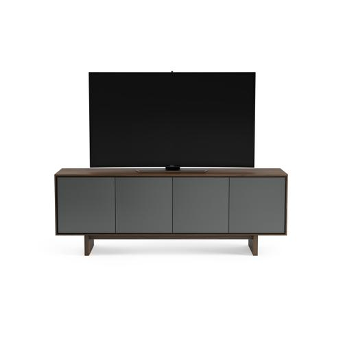 BDI Furniture - Octave 8379GFL Media Console in Toasted Walnut