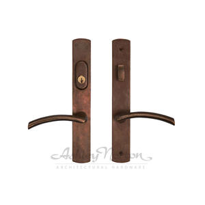 CVEG4 Escutcheon Shown with Centaur 349 lever in light bronze patina Product Image